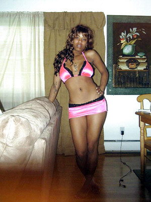 Amateur black teens in hot homemade..